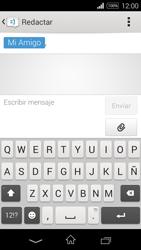 Sony D2203 Xperia E3 - MMS - Escribir y enviar un mensaje multimedia - Paso 10