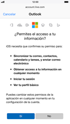 Apple iPhone 6s iOS 11 - E-mail - Configurar Outlook.com - Paso 8