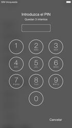 Apple iPhone 6 iOS 8 - Primeros pasos - Activar el equipo - Paso 4