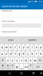 HTC One M9 - E-mail - Configurar correo electrónico - Paso 14