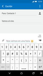 HTC One M9 - MMS - Escribir y enviar un mensaje multimedia - Paso 13