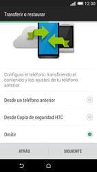 HTC One M8 - Primeros pasos - Activar el equipo - Paso 12