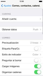 Apple iPhone 5s - E-mail - Configurar correo electrónico - Paso 4