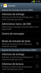 Samsung I9300 Galaxy S III - MMS - Configurar el equipo para mensajes de texto - Paso 5
