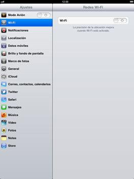 Apple iPad 2 - WiFi - Conectarse a una red WiFi - Paso 3