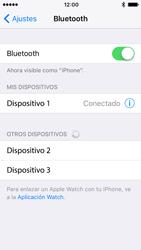 Apple iPhone SE - iOS 10 - Connection - Conectar dispositivos a través de Bluetooth - Paso 6