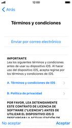 Apple iPhone SE - iOS 11 - Primeros pasos - Activar el equipo - Paso 20