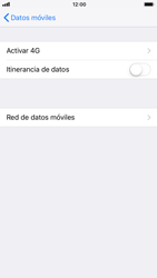 Apple iPhone 6 iOS 11 - Internet - Configurar Internet - Paso 6