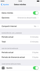 Apple iPhone 6s iOS 10 - Internet - Configurar Internet - Paso 5