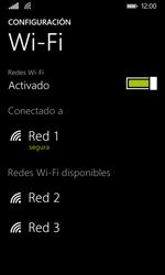 Nokia Lumia 635 - WiFi - Conectarse a una red WiFi - Paso 8