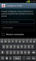 Samsung S7560 Galaxy Trend - E-mail - Configurar correo electrónico - Paso 5