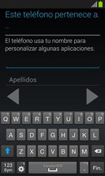 Samsung I8260 Galaxy Core - Primeros pasos - Activar el equipo - Paso 15