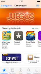 Apple iPhone 5s - Aplicaciones - Tienda de aplicaciones - Paso 3