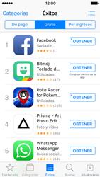Apple iPhone 5s iOS 10 - Aplicaciones - Descargar aplicaciones - Paso 7