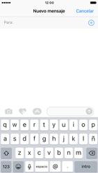 Apple iPhone 6s iOS 10 - MMS - Escribir y enviar un mensaje multimedia - Paso 4