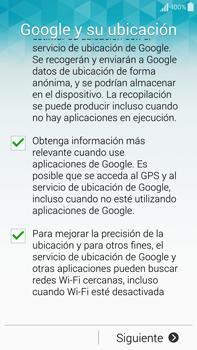 Samsung N910F Galaxy Note 4 - Primeros pasos - Activar el equipo - Paso 10