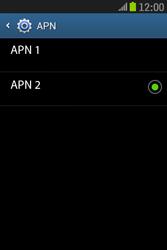 Samsung S6310 Galaxy Young - Internet - Configurar Internet - Paso 17