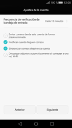 Huawei Ascend G7 - E-mail - Configurar Outlook.com - Paso 7
