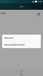 Huawei Y5 - MMS - Configurar el equipo para mensajes multimedia - Paso 7