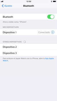 Apple iPhone 7 Plus iOS 11 - Connection - Conectar dispositivos a través de Bluetooth - Paso 6