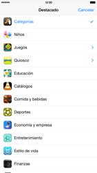 Apple iPhone 6 Plus iOS 8 - Aplicaciones - Descargar aplicaciones - Paso 5