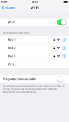 Apple iPhone 6s iOS 10 - WiFi - Conectarse a una red WiFi - Paso 5