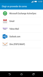 HTC One M8 - E-mail - Configurar correo electrónico - Paso 5