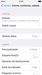 Apple iPhone SE - E-mail - Configurar Outlook.com - Paso 9