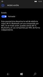 Microsoft Lumia 950 - Red - Activar o desactivar el modo avión - Paso 7