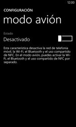 Nokia Lumia 520 - Red - Activar o desactivar el modo avión - Paso 5