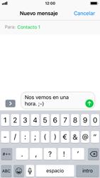 Apple iPhone SE - iOS 11 - MMS - Escribir y enviar un mensaje multimedia - Paso 8