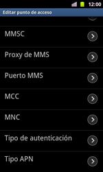 Samsung I8160 Galaxy Ace II - MMS - Configurar el equipo para mensajes multimedia - Paso 12
