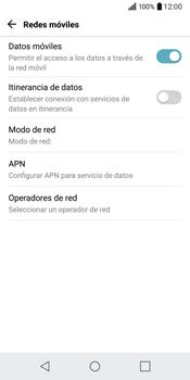 LG Q6 - Internet - Configurar Internet - Paso 6