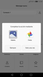 Huawei P9 Lite - MMS - Escribir y enviar un mensaje multimedia - Paso 15