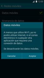 Samsung G900F Galaxy S5 - Internet - Activar o desactivar la conexión de datos - Paso 7