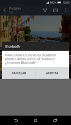 HTC One M9 - Connection - Transferir archivos a través de Bluetooth - Paso 10