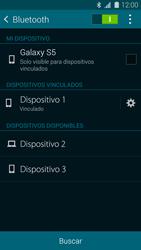 Samsung G900F Galaxy S5 - Connection - Conectar dispositivos a través de Bluetooth - Paso 8