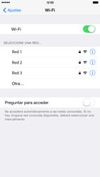 Apple iPhone 6 Plus iOS 8 - WiFi - Conectarse a una red WiFi - Paso 5