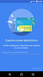 Sony Xperia XA1 - E-mail - Configurar correo electrónico - Paso 6