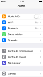 Apple iPhone 5s - Internet - Configurar Internet - Paso 3