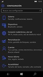 Microsoft Lumia 950 - Red - Activar o desactivar el modo avión - Paso 4