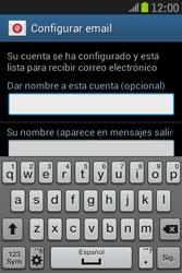 Samsung S6310 Galaxy Young - E-mail - Configurar correo electrónico - Paso 21