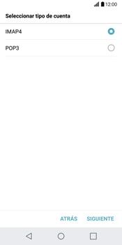 LG G6 - E-mail - Configurar correo electrónico - Paso 9