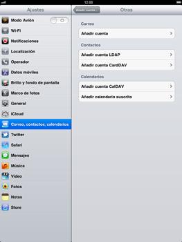 Apple iPad 2 - E-mail - Configurar correo electrónico - Paso 6