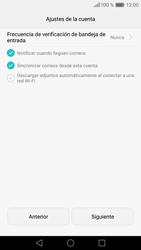 Huawei P9 - E-mail - Configurar Outlook.com - Paso 9